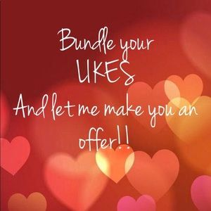 Add your LIKES to a bundle...